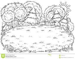 Black White Forest Animals Coloring Pages Enchanted Printable Pdf Full Size