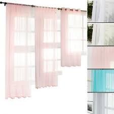 gardinen transparent voile vorhang ösen kräuselband