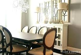 Dining Room Buffet Decor Traditional With Beige Wallpaper Christmas