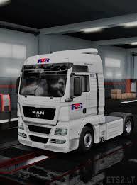 100 Rts Trucking Man Skin ETS 2 Mods