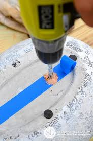 Drilling Small Holes In Porcelain Tile by How To Drill Drainage Holes In Ceramic Flowerpots And Planters