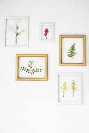 9 DIY Botanical Projects To Welcome Spring In Your Home Framed 3D Wall Art