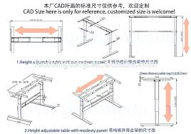 Uplift Standing Desk Australia by Standing Desk Frame Manual Crank Stand Up Steel Desk Frame System