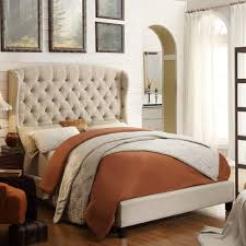 Wayfair Upholstered Queen Headboards by Beds Astonishing Wooden King Size Bed Frame Wooden Double Bed