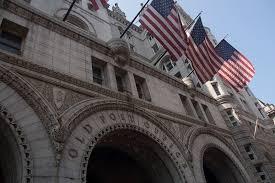 Trumps Break Ground on Old Post fice Hotel