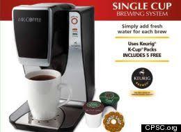 Coffee Maker Mr Single Cup Brewing System Drinker