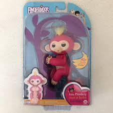 Pink Fingerling Monkey New In Box