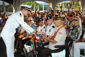 Uss Indianapolis Sinking Timeline by Veterans Day Tributes End With Sunset Ceremony Uss Missouri