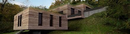 extension bois de la maison