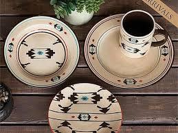 Artesia Southwestern Western Decor Stoneware Dinnerware