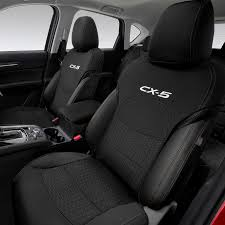 New Genuine Mazda Set Of 2 KF CX-5 Front Seat Covers Neoprene CX5 ...