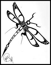 Butterfly Tattoo Ideas Free Designs To Print Best Printable Dragonfly Coloring Pages For Kids