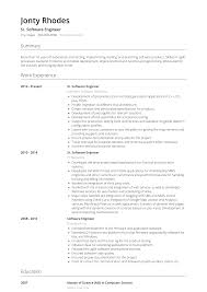 Software Engineer - Resume Samples And Templates | VisualCV 32 Resume Templates For Freshers Download Free Word Format Warehouse Workerume Example Writing Tips Genius Best Remote Software Engineer Livecareer Electrical Engineer Resume Example Lamajasonkellyphotoco Developer Examples 002 Cv Template Microsoft In By Real People Intern At Research Samples Velvet Jobs Eeering Internship Sample Senior Software Awesome Application 008 Ideas Eeering