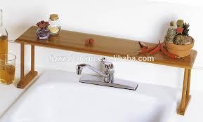 bambus bad arbeitsplatte lagerung organizer rack bambus über die waschbecken regal buy diy organizer regal bad ecke regal bambus display regal