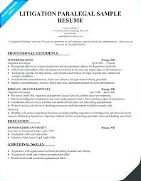 Legal Assistant Resume Sample Secretary Paralegal Samples Inspiration Administrative