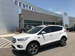 100 Central Truck Sales New 2018 Ford Escape SUV White Platinum For Sale In Trumann AR
