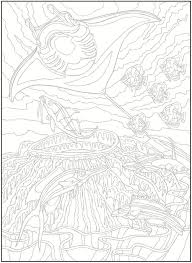 Welcome To Dover Publications Creative Haven Sea Life Color By Number Coloring Book Chart Available