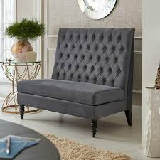 Amazon.com: Pulaski Button Tufted Upholstered Settee In Tucar ... Ding Room Classy Small Bench Banquette With Igf Usa Cream Upholstered Nail Head Trim Overstock Beautiful Kitchen Table Settee Cool 95 Seating Fniture Fantastic For Your Ideas Sets Elegant Best 25 Bench Ideas On Pinterest Seating Storage