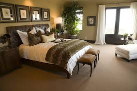 Bedroom Decorating Ideas Brown And Cream For Decoration Professionally Decorated Master Designs