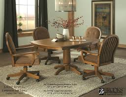 Interior Kitchen Table With Swivel Chairs Attractive Kitchen Table