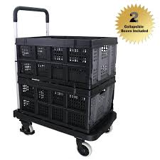 Black Finether Multi-purpose Height-adjustable Aluminum Folding 4 ... Sydney Trolleys Heavy Duty Platform Hand Trucks Folding Twowheel Special Application Convertible Northern Tool Equipment Shop Milwaukee 300lb Capacity Red Alinum Truck At 10 Best With Reviews 2017 Research Magna Cart Flatform Lowes Canada 440lb Stair Climbing Wheels Cart Dolly Industrial Pug Collapsible Stowaway 4062 Urchchairs4lesscom Relaxdays 55cm H X 83cm W 515cm D Foldable Trolley