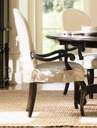 Stylish Marvelous Slipcovers For Chairs With Arms Dining Room Chair Sportwholehousefansco