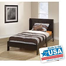 mainstays parklane twin platform bed and headboard multiple