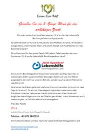 lebenshilfe bgl lebenshilfe spendenaktion des