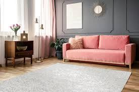 finish 100 weiß silber wohnzimmer teppiche zaligo