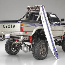 100 Tamiya Rc Trucks Toyota Hilux High Lift 4X43Spd USA
