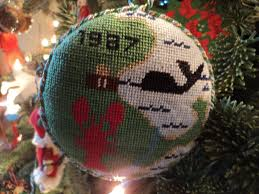 Simon Pearce Christmas Tree Ornament by Collections Lauren Huyett Interiors