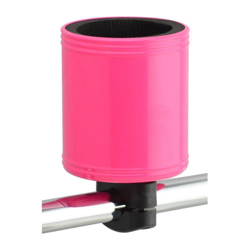 Kroozie Cups Hydration 2.0 Bicycle Drink Cup Holder - Steel Pink