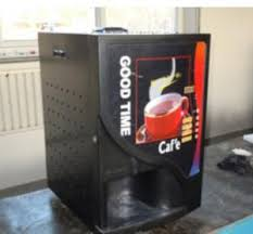 Quality Coffee Vending Machine Automatic Maker Drinking On Table For Sale