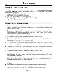 Sample Resume For Administrative Assistant In Canada Best Of Profile As E D