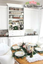 Dining Room Table Decorating Ideas For Spring by Diy Natural Spring Tablescape The Rustic Boxwood Diy