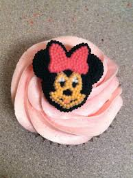 Minnie Mouse Painted Pumpkin by Julie Bakes Mini Minnie Themed Cupcakes