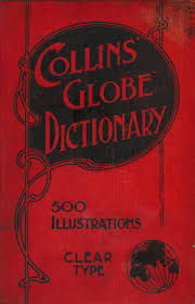 Collins Globe Dictionary 500 Illustrations Cover