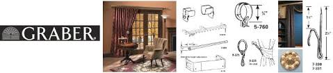 Graber Traverse Rods Decorative by Basicq Inc Curtain Rods Traverse Rods Drapery Hardware