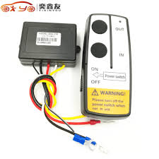 100 Truck And Winch Coupon Code YIXINYOU Universal 12V 50FT Electric Wireless Remote Control
