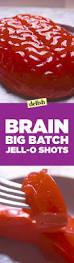 Halloween Jello Molds Brain by Best Brain Big Batch Jell O Shot Recipe How To Make Brain Big