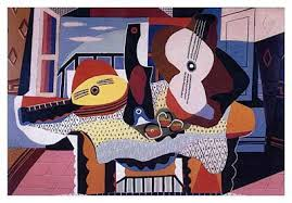 Picasso Still Life With Chair Caning Analysis by Cubism U2013 The First Style Of Abstract Art