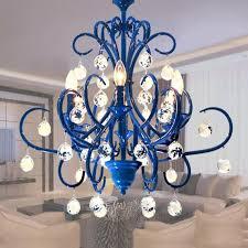 salon schaufenster displays beleuchtung mission stil blau eisen kronleuchter wohnzimmer schlafzimmer esszimmer leuchte kunst handwerk led leuchten
