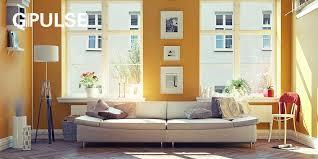 wandfarbe senfgelb neue trendfarbe bringt freude nach zuhause