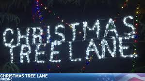 Christmas Tree Lane Fresno Ca by Jim Visits Fresno U0027s Christmas Tree Lane Kmph