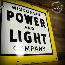 Reddy Kilowatt Character Lamp by Vintage Reddy Kilowatt Wisconsin Power Light Company Porcelain