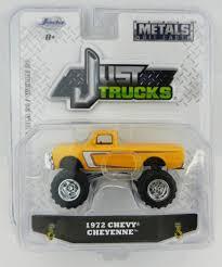 100 Cheyenne Trucks 164 JADA TOYS JUST TRUCKS 20 Yellow 1972 Chevrolet C10
