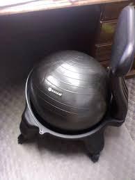 Yoga Ball Desk Chair Benefits by Furniture Office Chair Battle Gaiam Balance Ball Chair Vs Regular