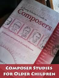 Composer Studies For Older Children