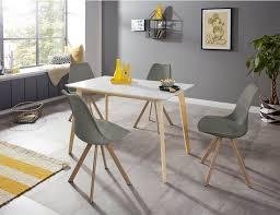inosign esszimmerstuhl lazio 2er set aus einem schönen metallgestell in holzoptik in unterschiedlichen trendfarben erhältlich kaufen otto