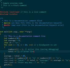 Syntax Highlighting Custom Colour Themes